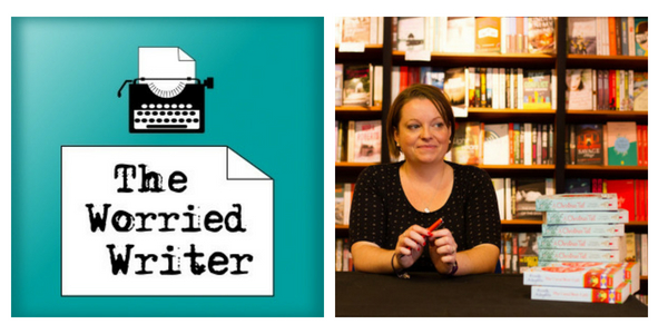 The Worried Writer Episode#40: Cressida McLaughlin 'You Have